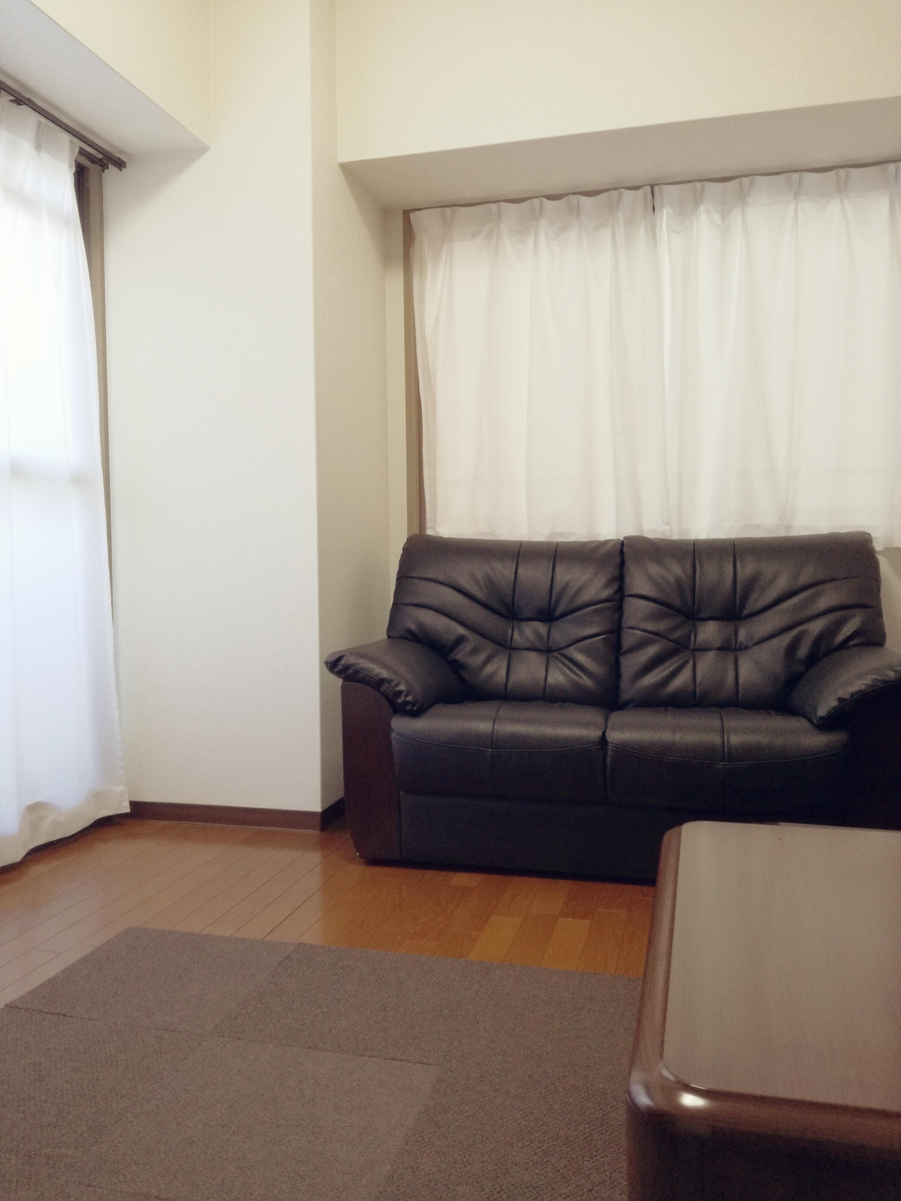 ソファーの置いている部屋